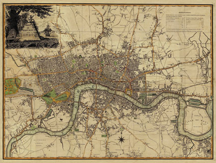 Old London Maps for sale