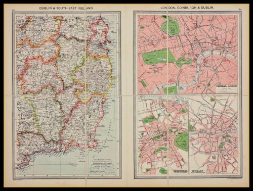 Map Of Uk 1900.Uk Ireland Antique Maps
