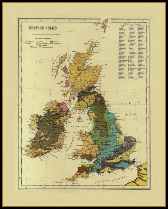 Map Of Uk Ireland.Old Maps Of The Uk Ireland