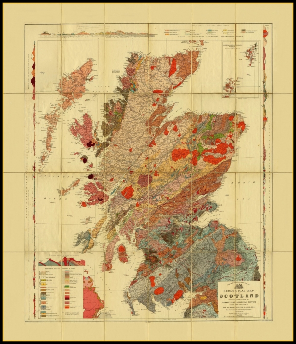 Ancient Map Of Ireland.Old Maps Of The Uk Ireland