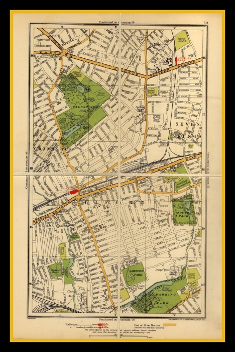 Street Map Of London Uk.Old London Street Maps
