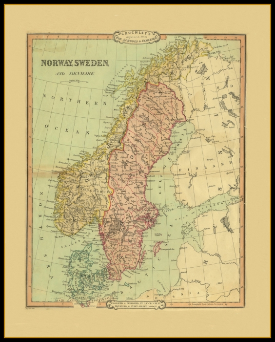 Old Maps Rest of the World  Map Of Norway on 1860 map of liberia, 1860 map of mexico, 1860 map of upper silesia, 1860 map of czechoslovakia,
