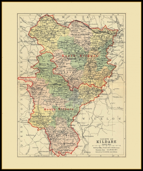 Map Of Ireland 32.Antique County Maps Ireland