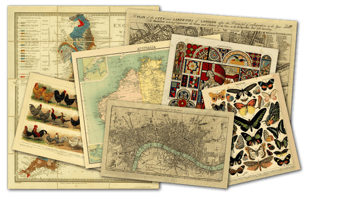 Orignal & Reproduction Rare and Historical Maps and Charts